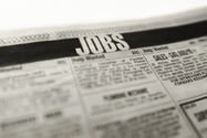 Find a job using classifieds and start working again.